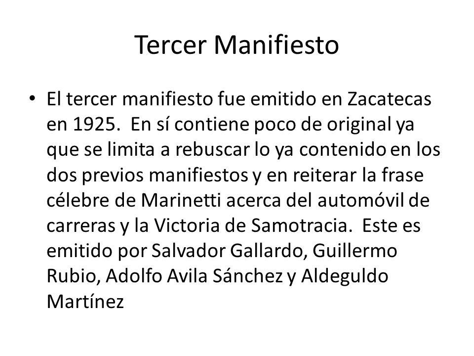 Tercer Manifiesto