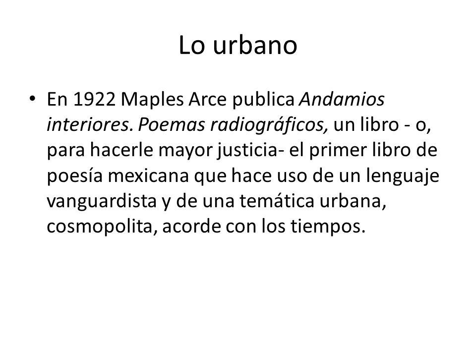 Lo urbano