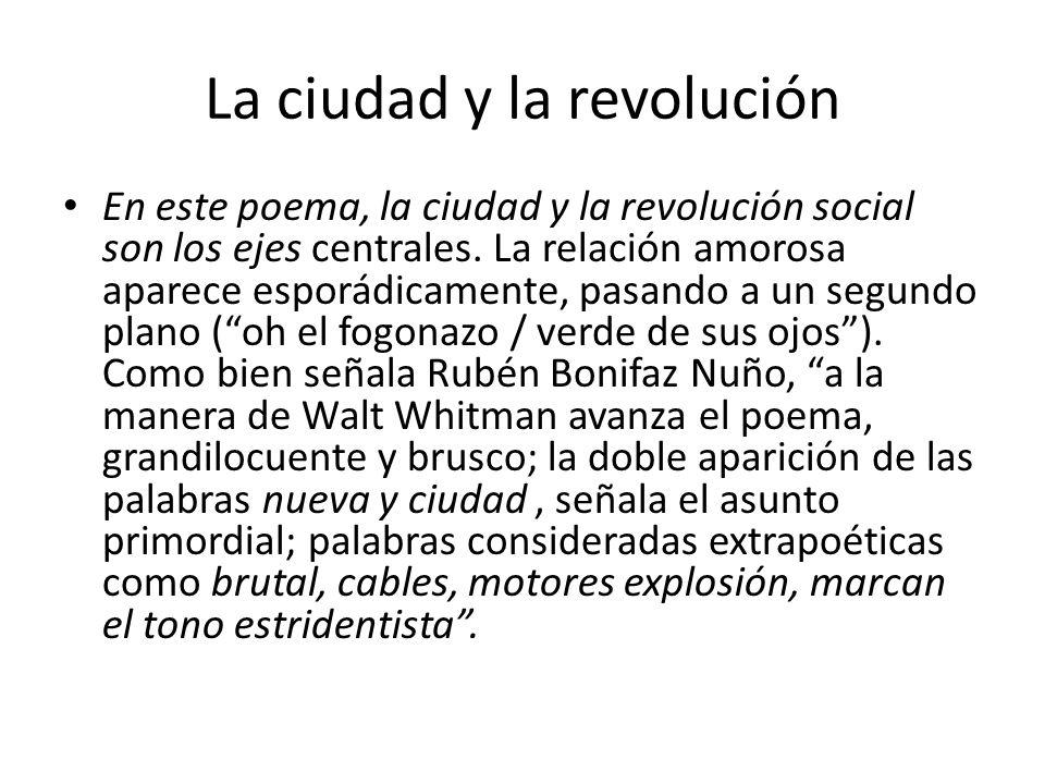 La ciudad y la revolución