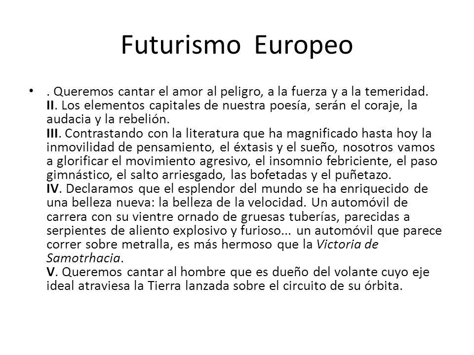 Futurismo Europeo