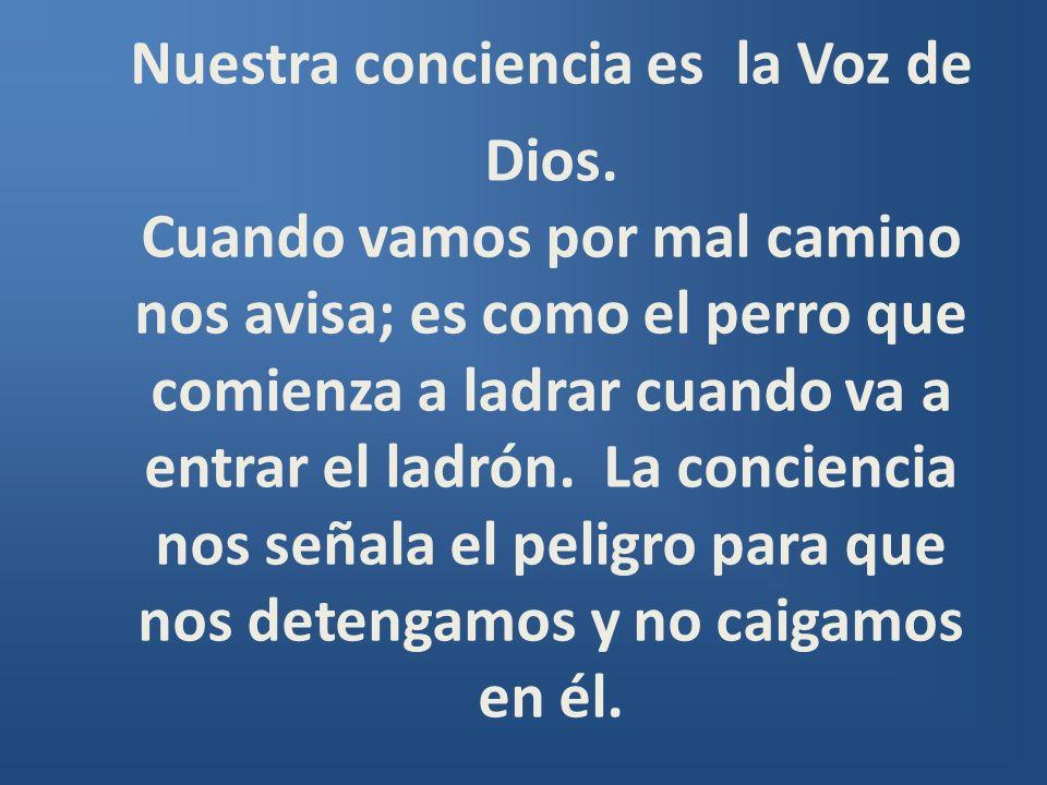 Nuestra conciencia es la Voz de Dios