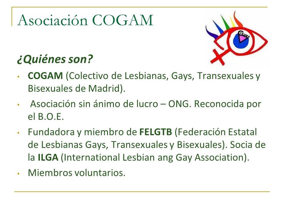 Asociación COGAM ¿Quiénes son