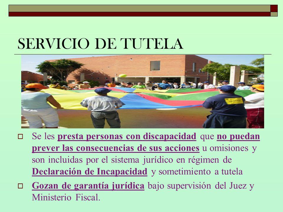 SERVICIO DE TUTELA