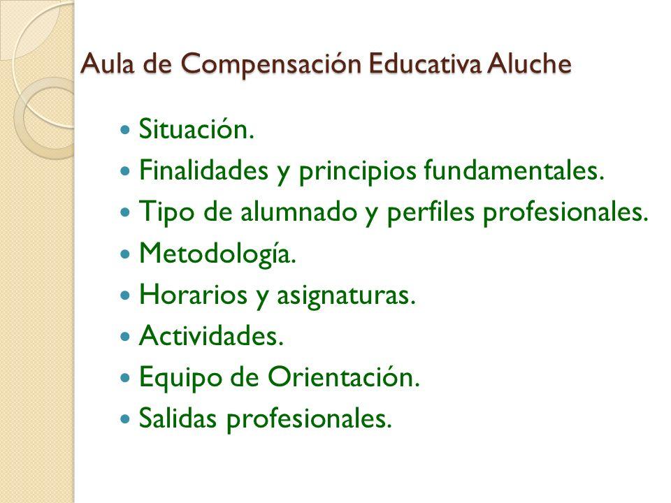 Aula de Compensación Educativa Aluche