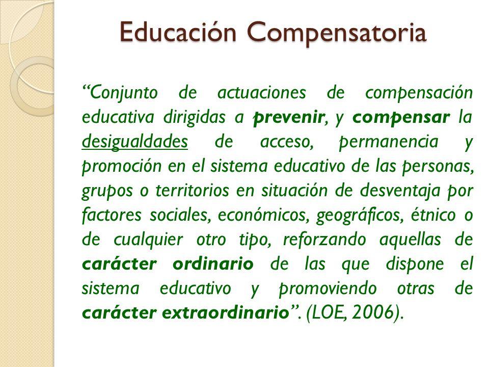 Educación Compensatoria