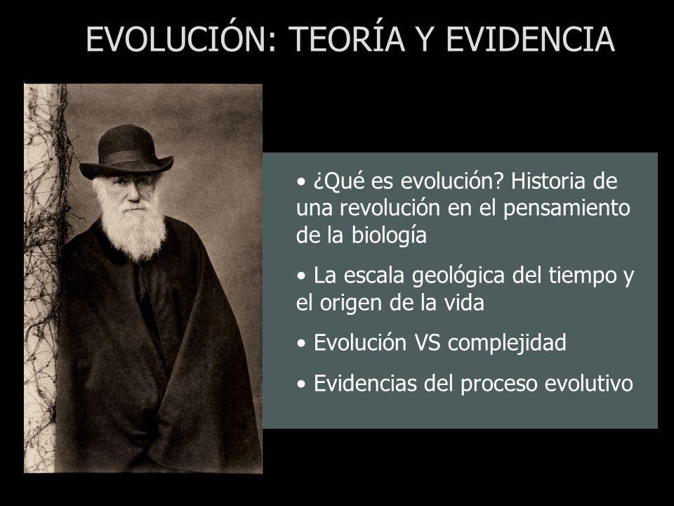 EVOLUCIÓN: TEORÍA Y EVIDENCIA