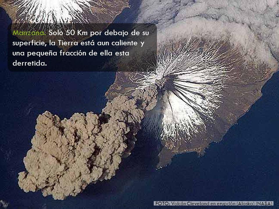 FOTO: Volcán Cleveland en erupción (Alaska) (NASA)