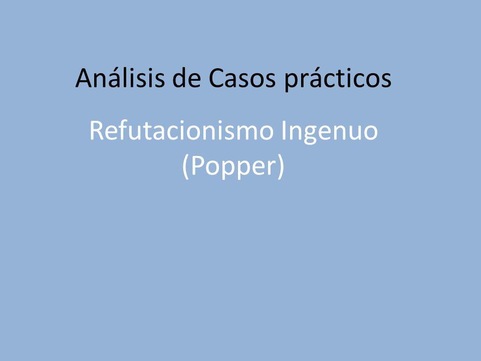 Refutacionismo Ingenuo (Popper)