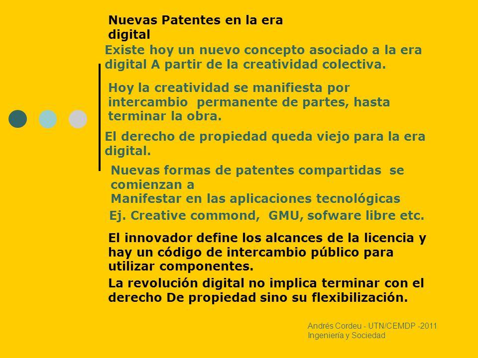 Nuevas Patentes en la era digital