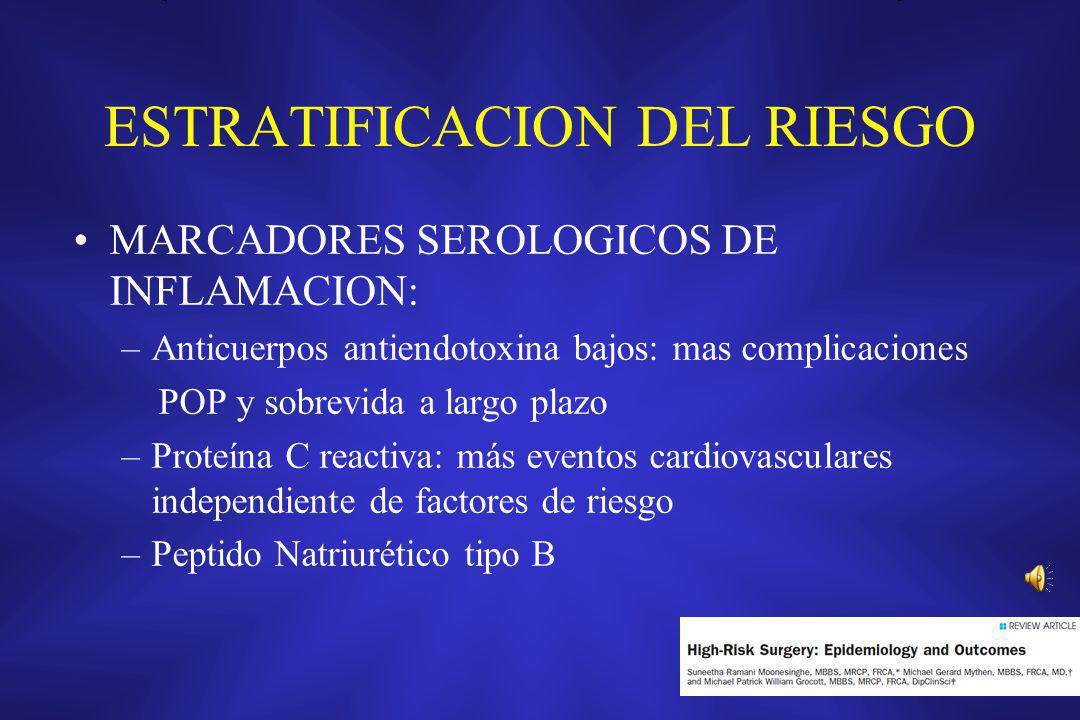 ESTRATIFICACION DEL RIESGO