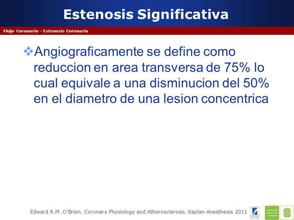 Estenosis Significativa