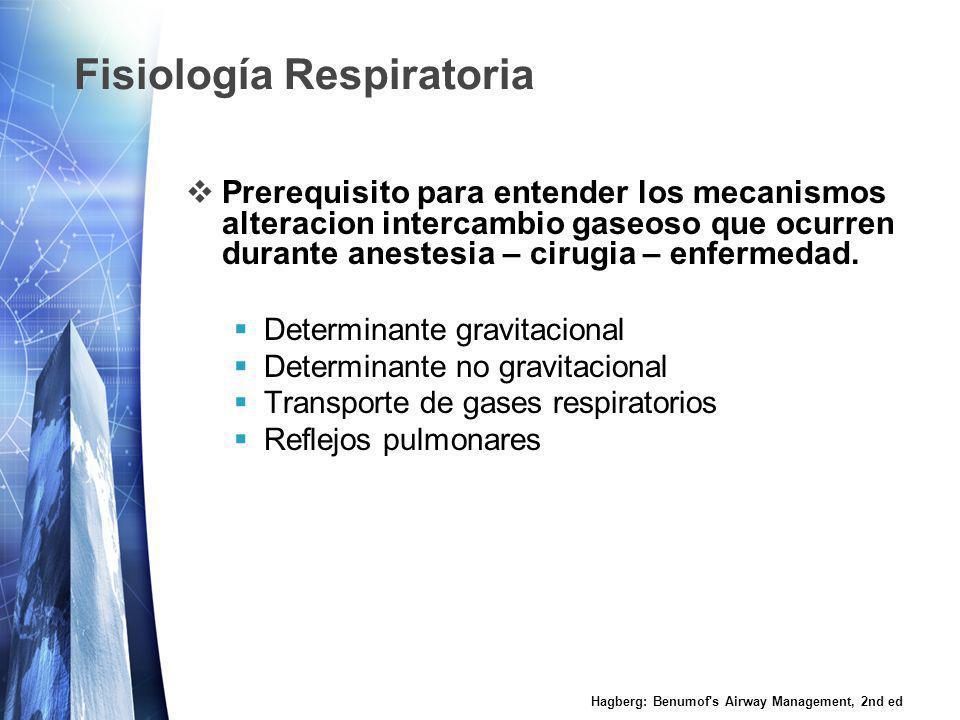Fisiología Respiratoria