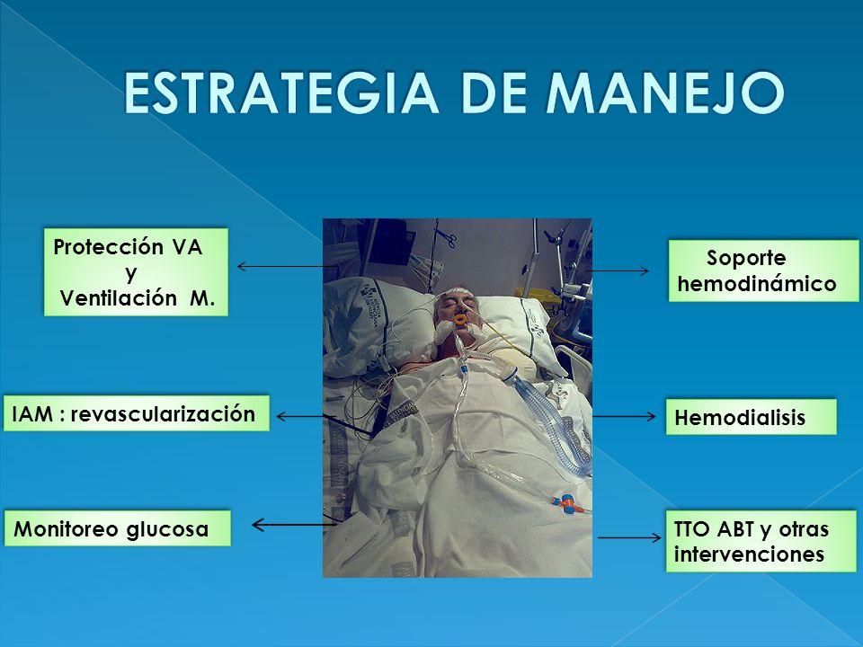 ESTRATEGIA DE MANEJO Protección VA y Ventilación M.