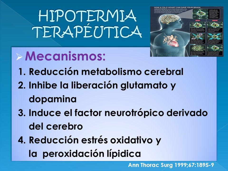 HIPOTERMIA TERAPÉUTICA