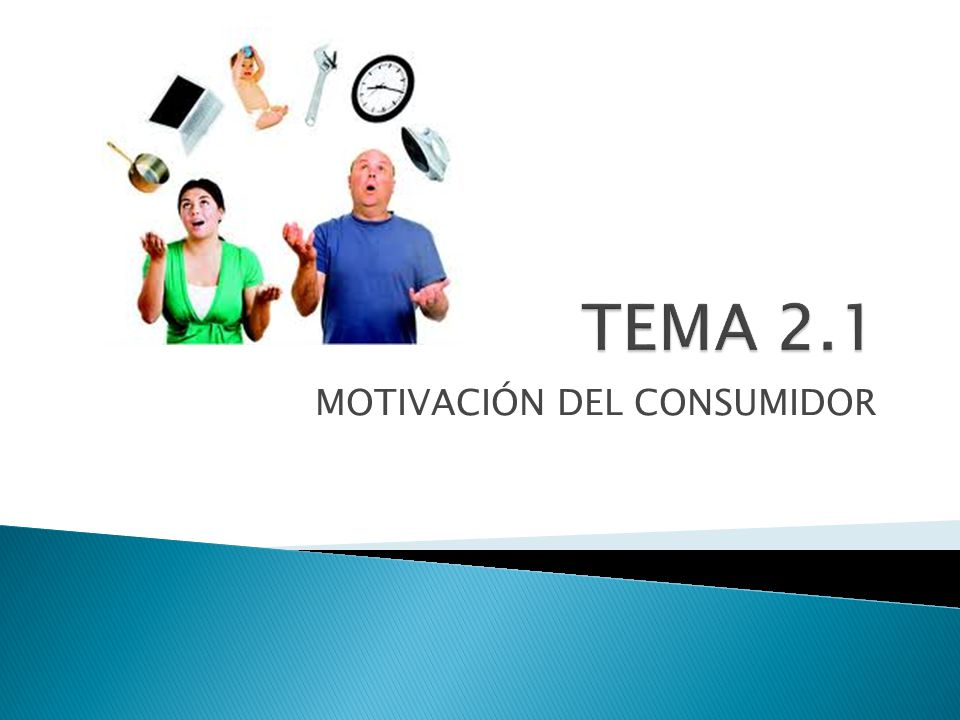 MOTIVACIÓN DEL CONSUMIDOR