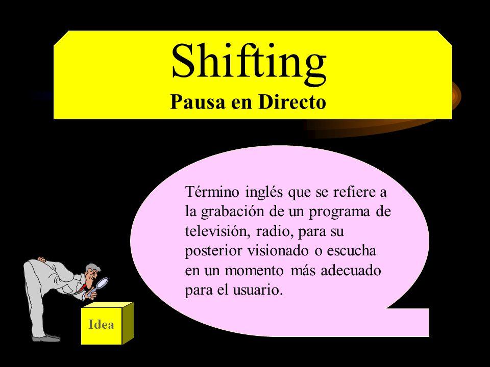 Shifting Pausa en Directo