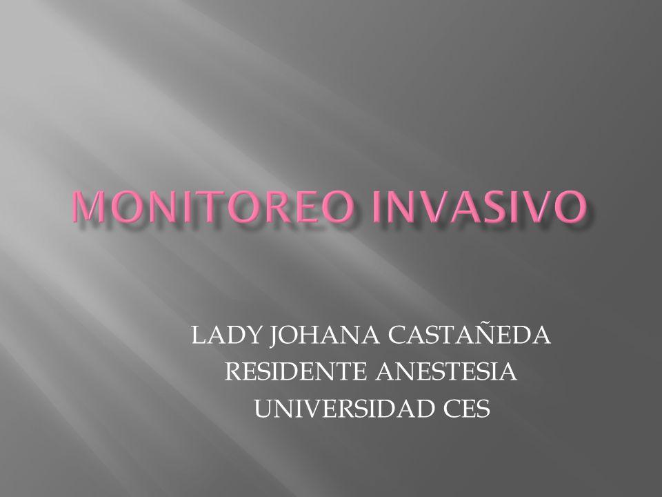 LADY JOHANA CASTAÑEDA RESIDENTE ANESTESIA UNIVERSIDAD CES