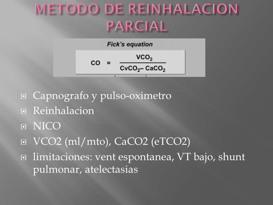 METODO DE REINHALACION PARCIAL