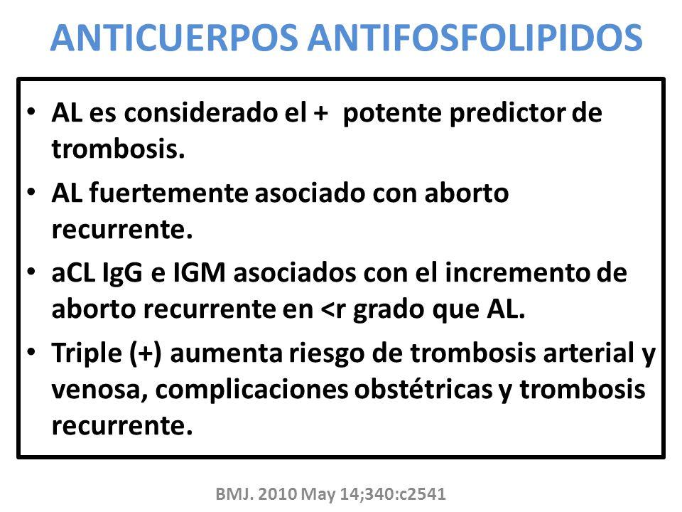 ANTICUERPOS ANTIFOSFOLIPIDOS