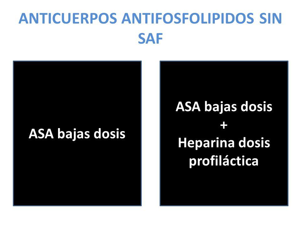 ANTICUERPOS ANTIFOSFOLIPIDOS SIN SAF