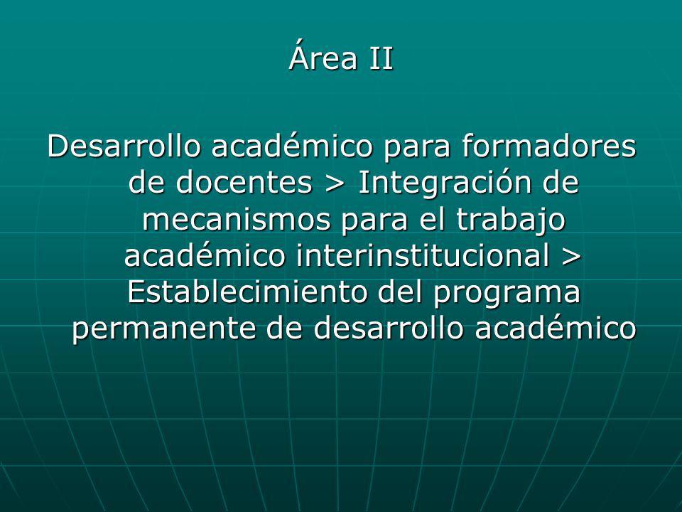 Área II