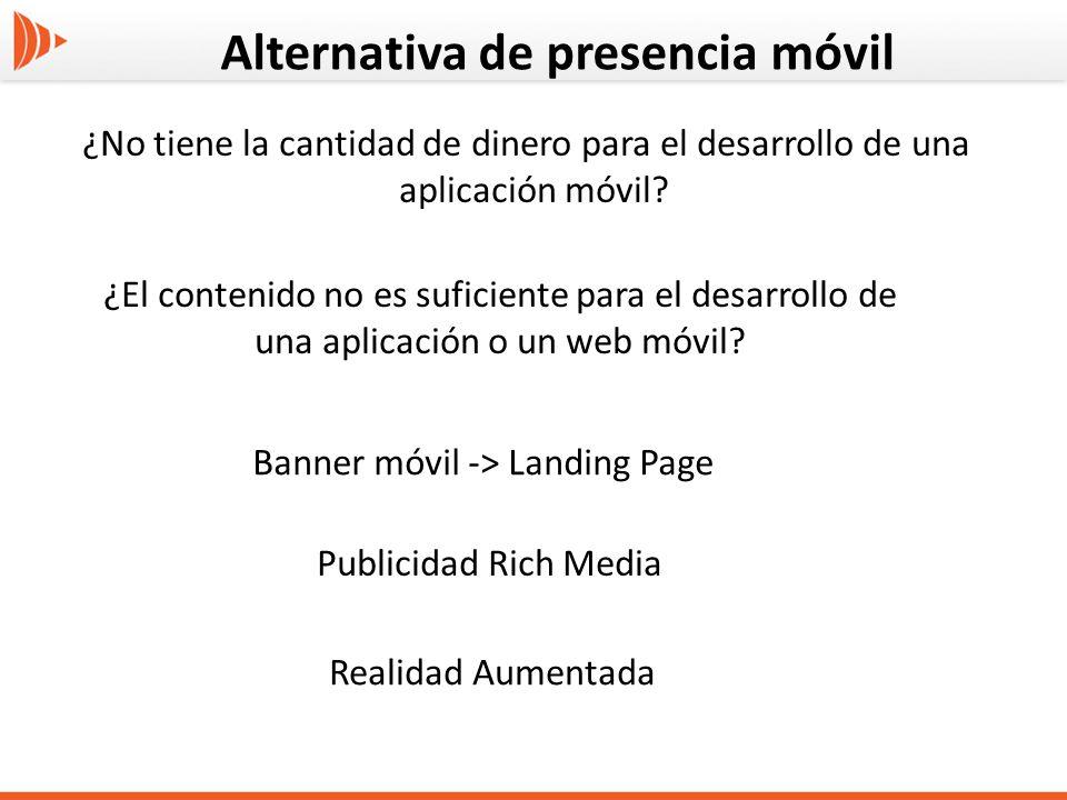 Banner móvil -> Landing Page
