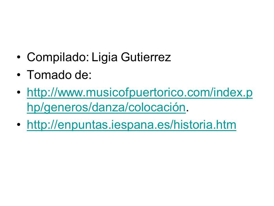 Compilado: Ligia Gutierrez