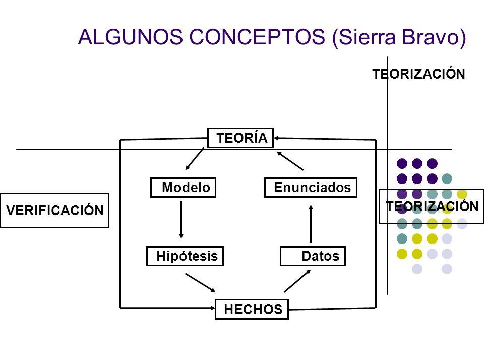 ALGUNOS CONCEPTOS (Sierra Bravo)