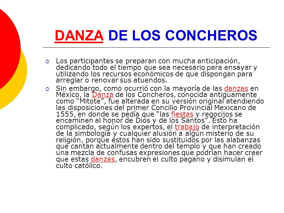 DANZA DE LOS CONCHEROS