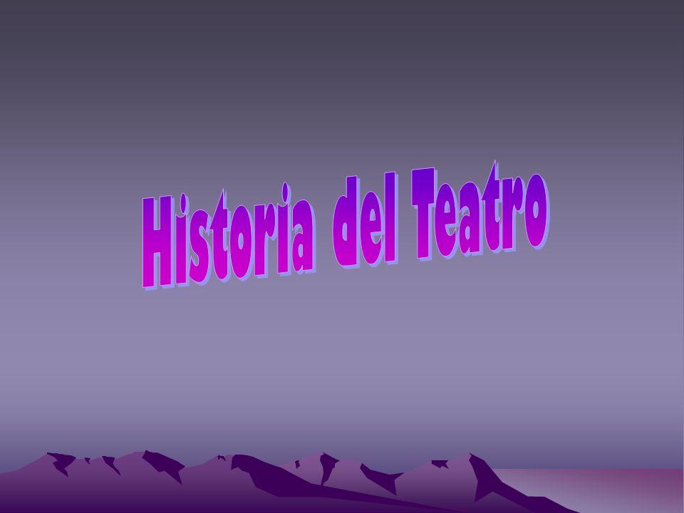 Historia del Teatro