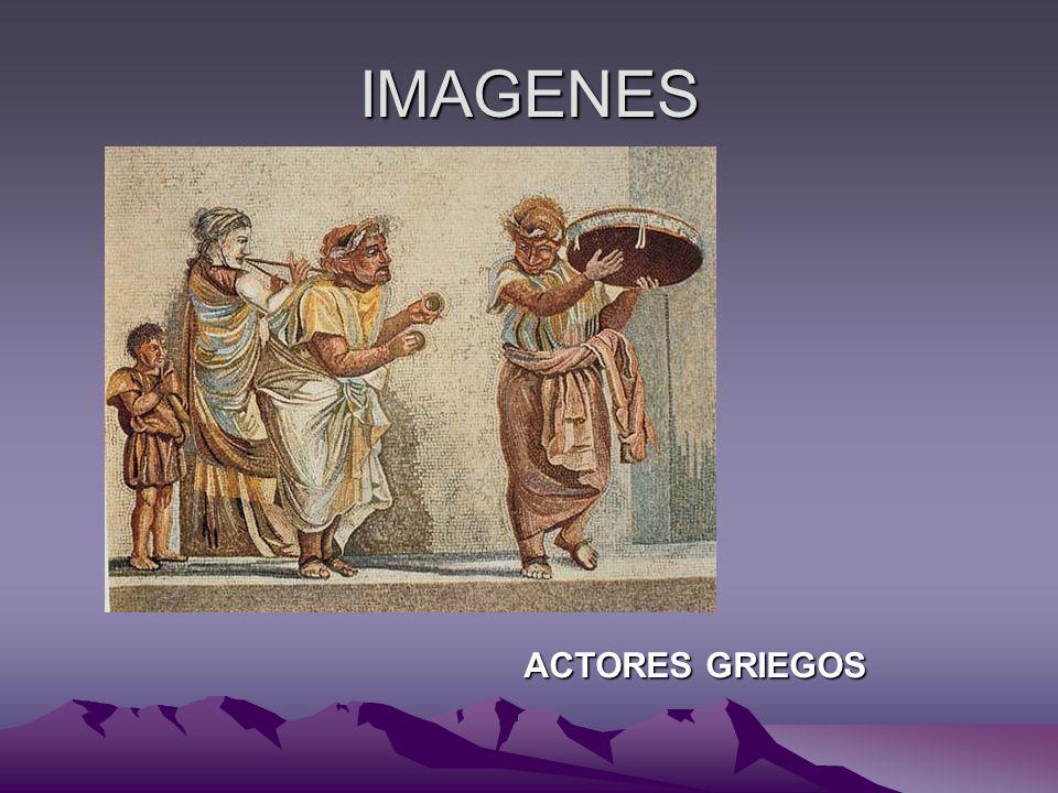 IMAGENES ACTORES GRIEGOS