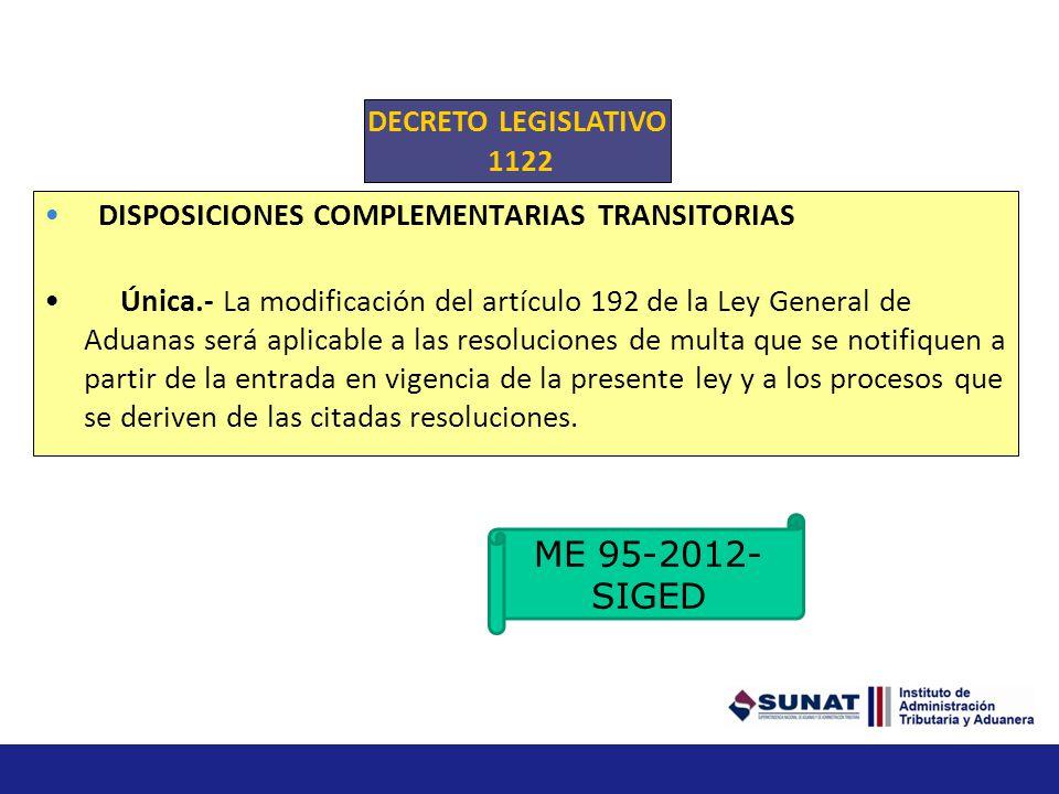 ME 95-2012-SIGED DECRETO LEGISLATIVO 1122