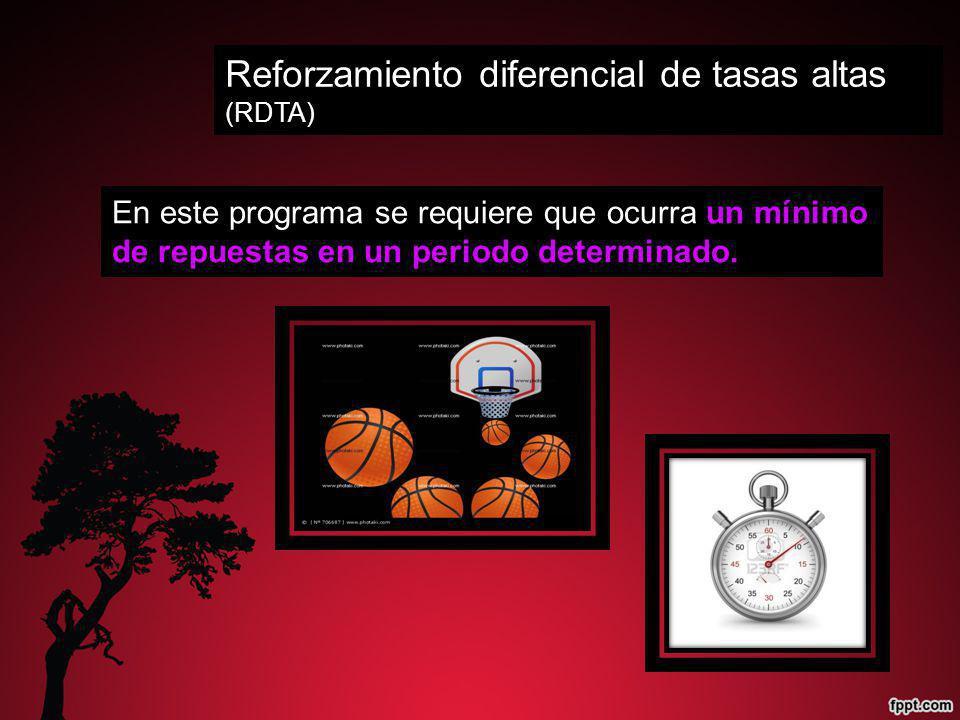 Reforzamiento diferencial de tasas altas (RDTA)