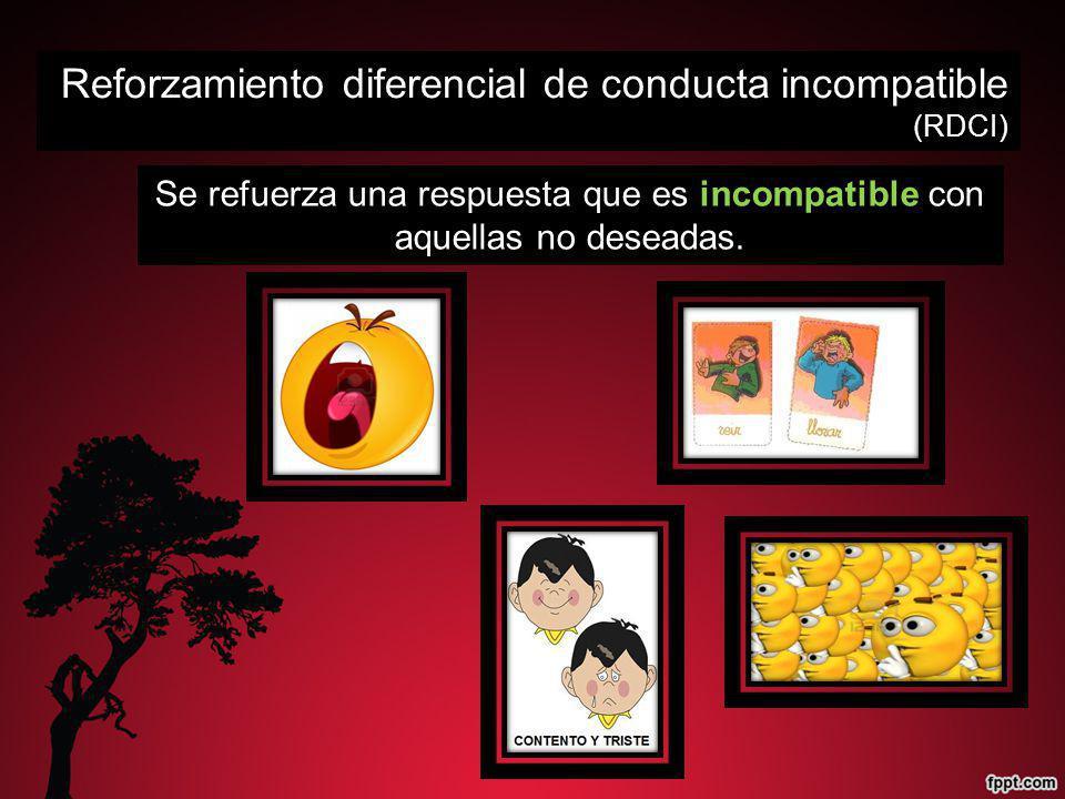 Reforzamiento diferencial de conducta incompatible (RDCI)