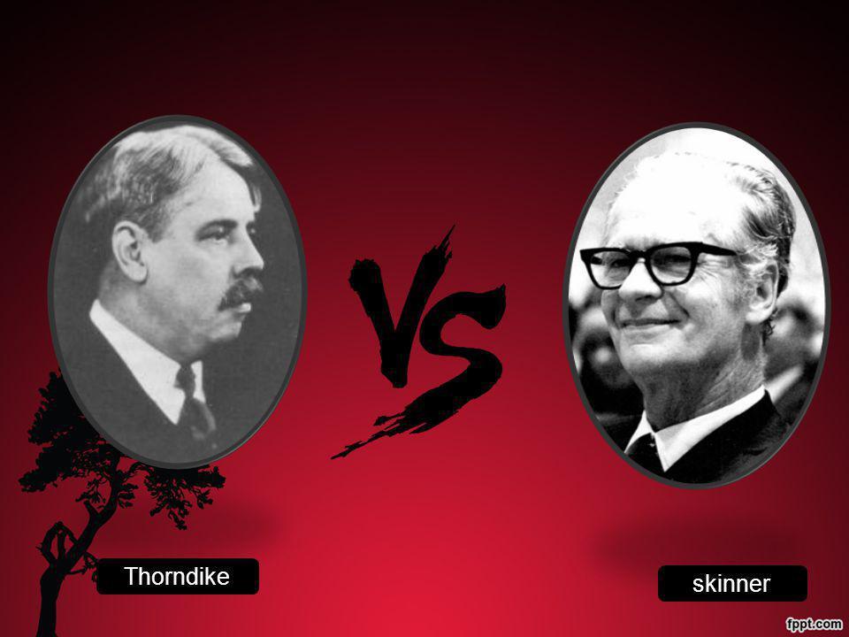 Thorndike skinner