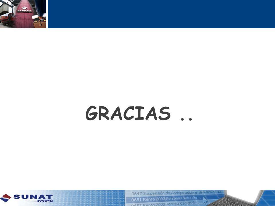 GRACIAS ..