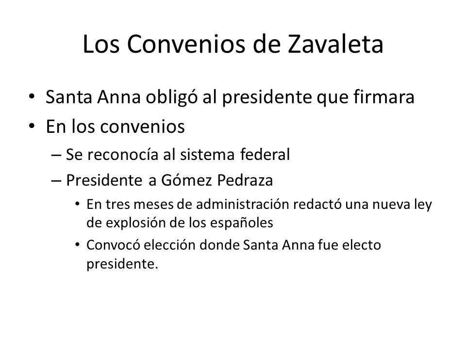 Los Convenios de Zavaleta