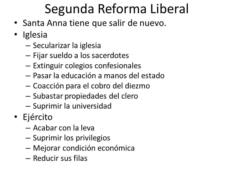 Segunda Reforma Liberal