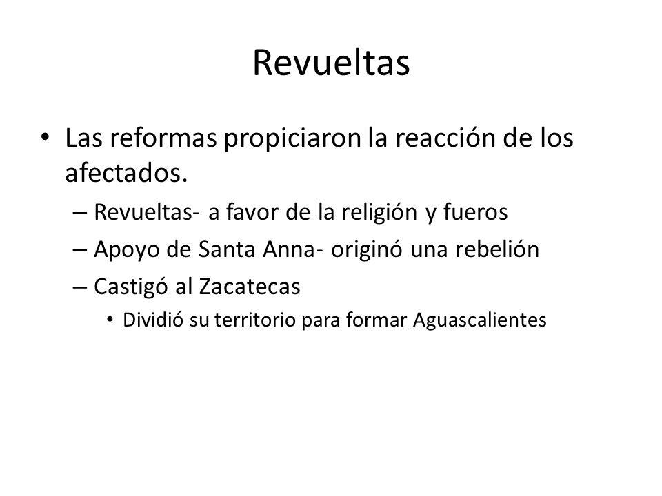 Revueltas Las reformas propiciaron la reacción de los afectados.
