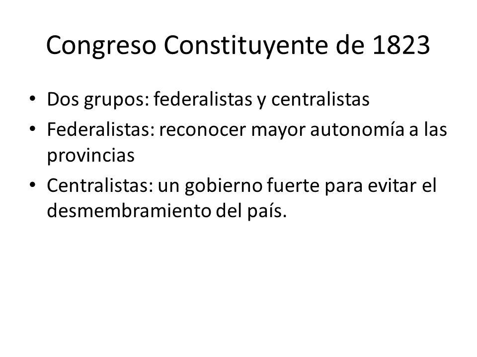 Congreso Constituyente de 1823