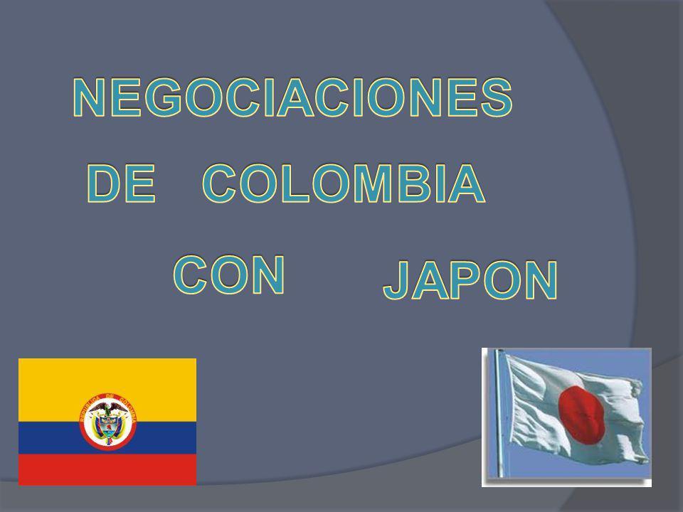 NEGOCIACIONES DE COLOMBIA CON JAPON