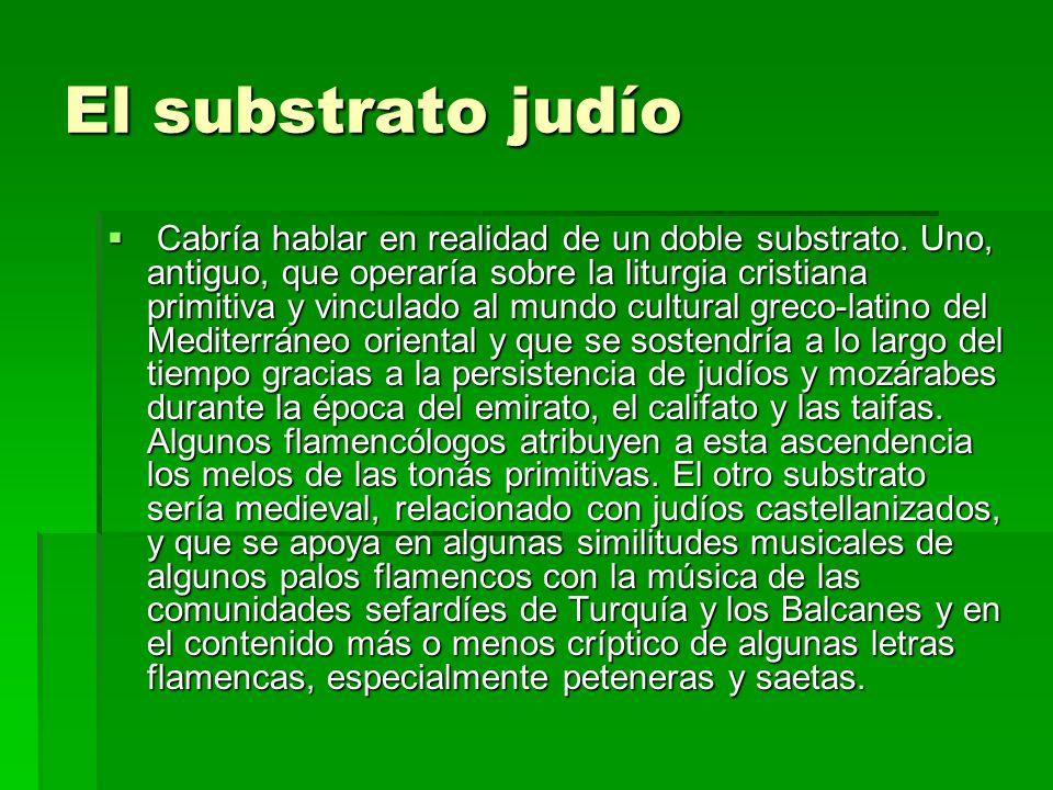El substrato judío