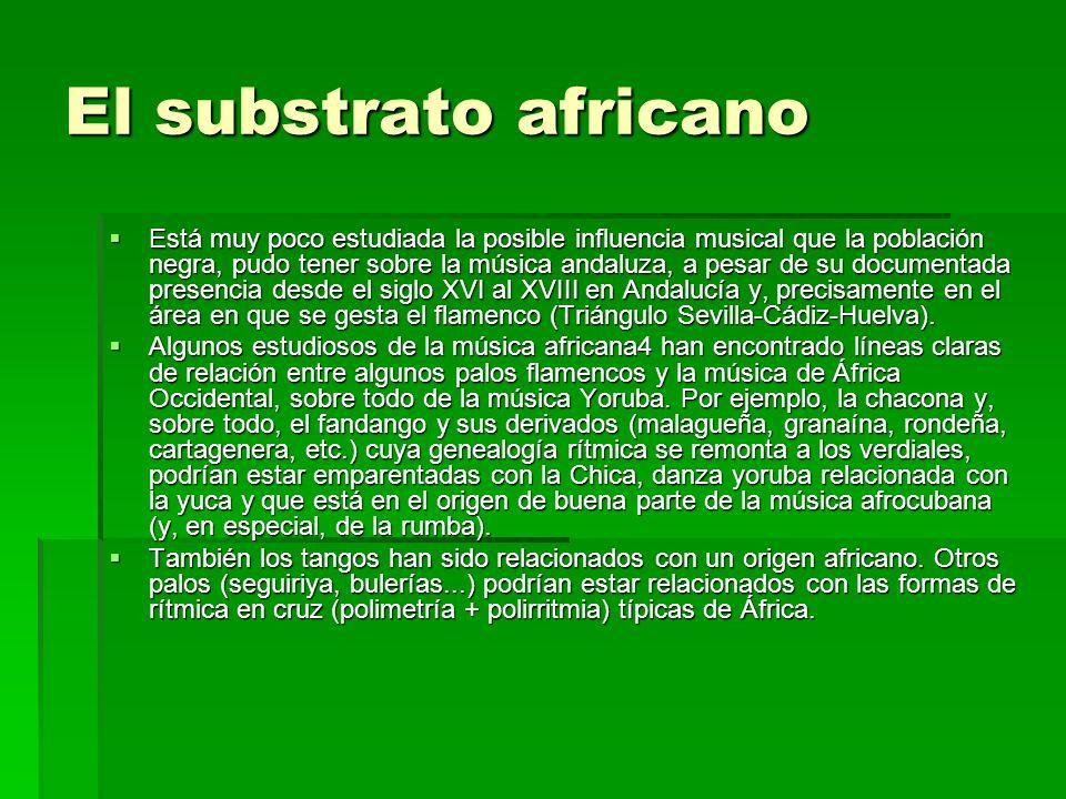 El substrato africano
