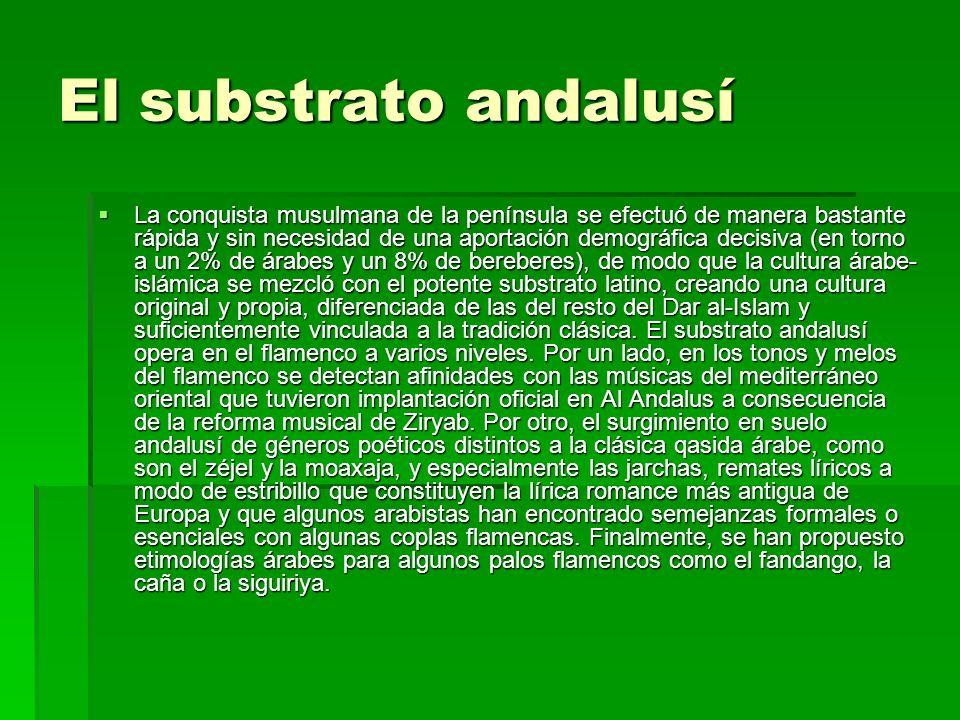 El substrato andalusí