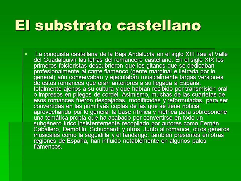 El substrato castellano