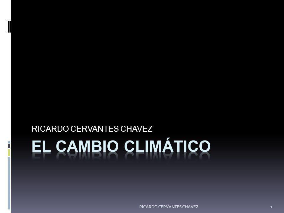 RICARDO CERVANTES CHAVEZ
