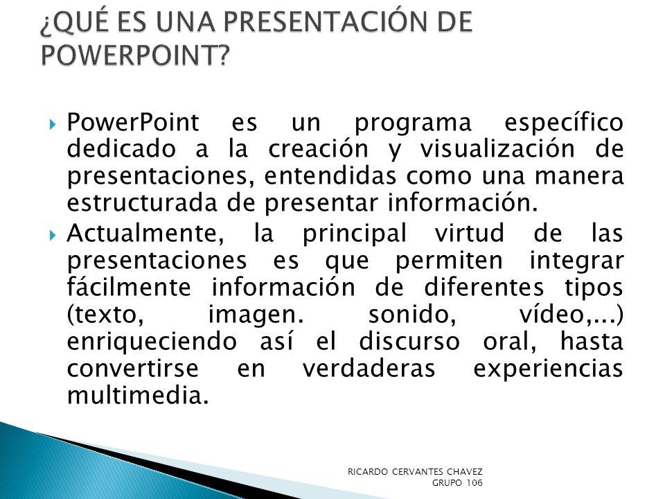 ¿Qué es una presentación de PowerPoint