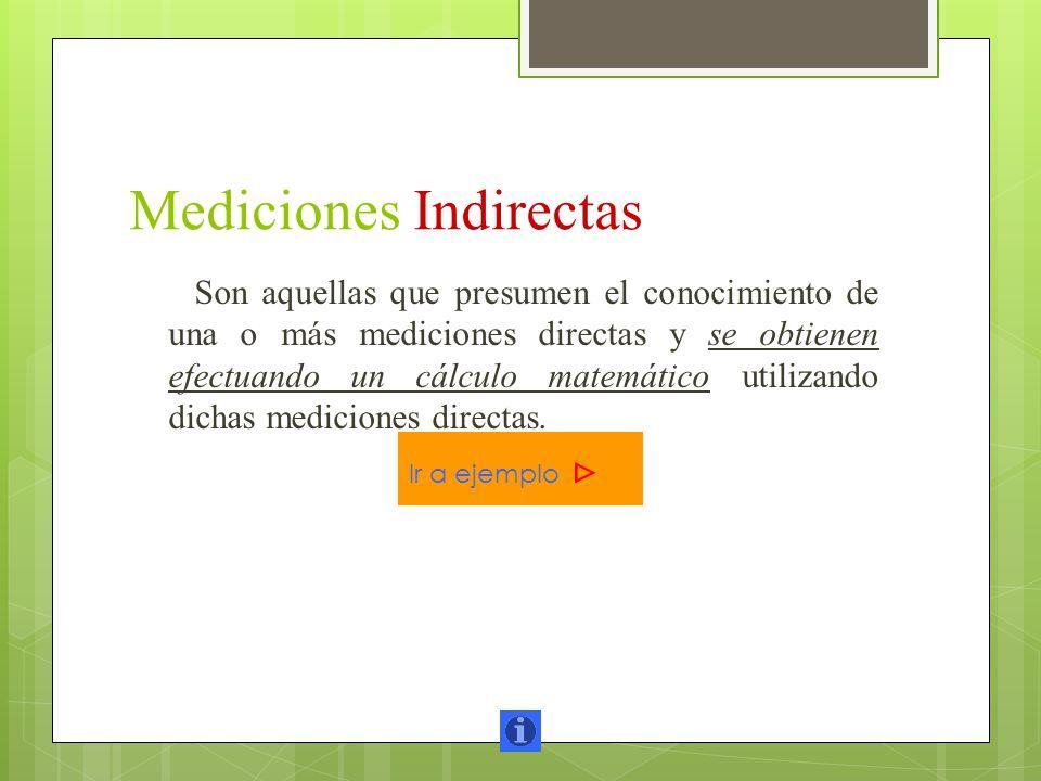 Mediciones Indirectas