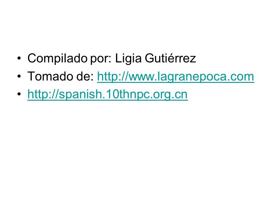 Compilado por: Ligia Gutiérrez