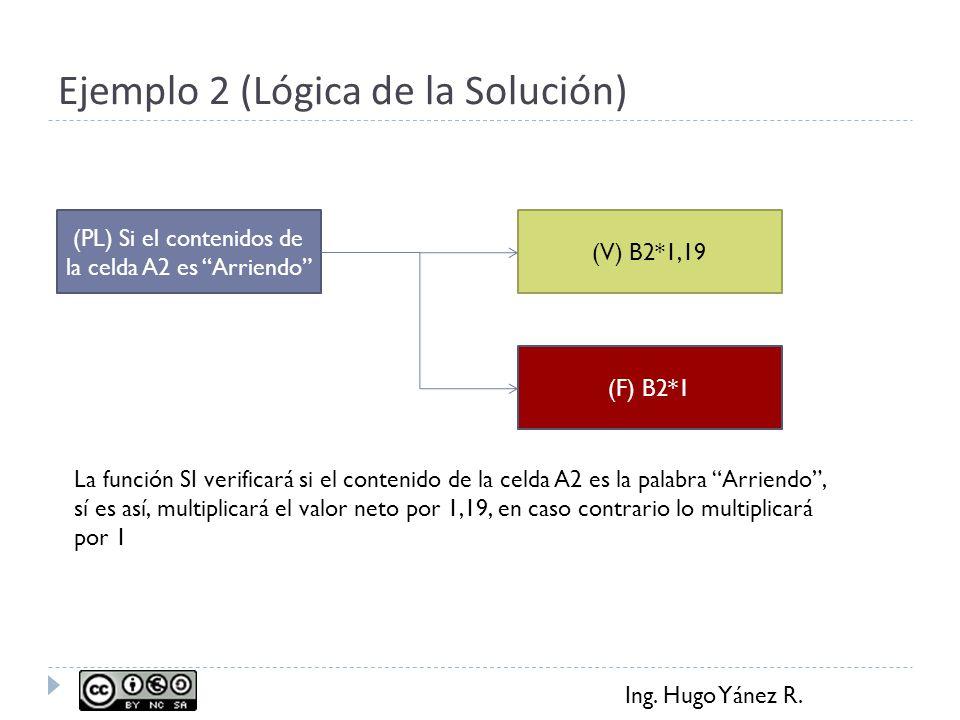 Ejemplo 2 (Lógica de la Solución)